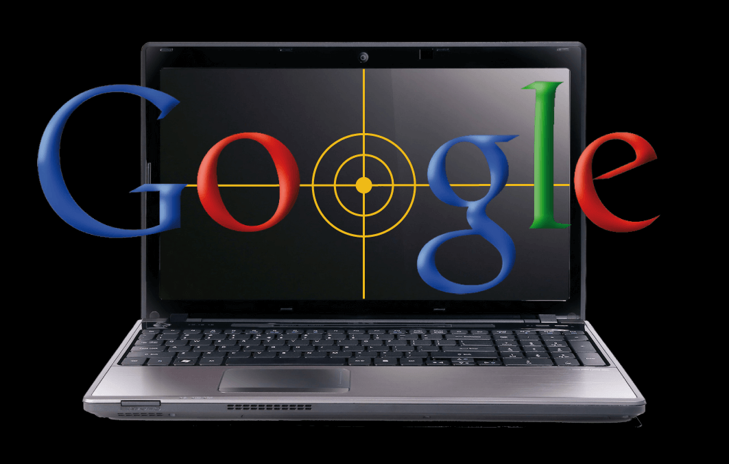 image visualizing how google is spying on users