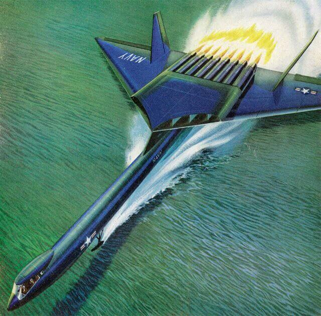 Nuclear Powered Airplane - Newsweek cover, 1956